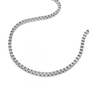Collier boite chaine en acier inoxydable 03377 42xx