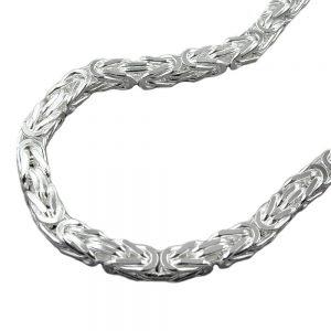 Collier byzantine chaine argent 925 Krossin bijoux en argent 50cm 137002 50xx
