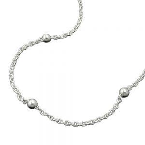 Collier chaîne avec boules argent 925 Krossin bijoux en argent 45cm 123010 45xx