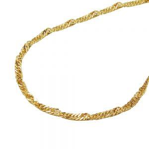 Collier chaine  42cm 14k or 518003 42xx