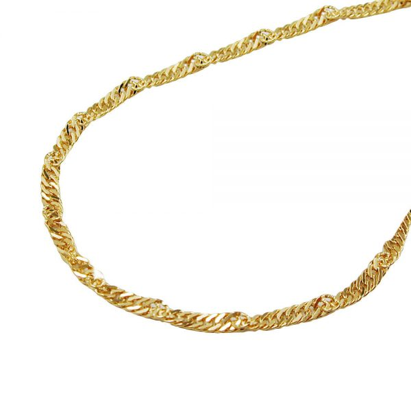Collier chaine  45cm or 14 carats 518003 45xx