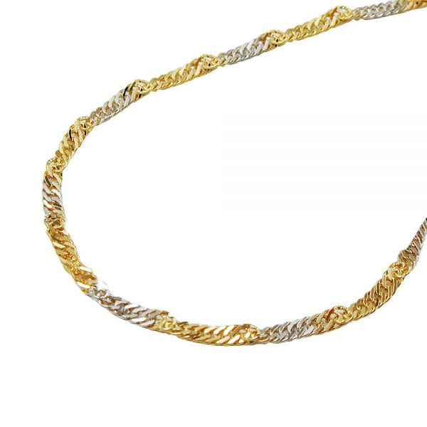Collier  chaine 50cm or 9 carats 518005 50xx