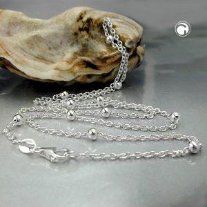 Collier chaine avec des boules dargent 925 Krossin bijoux en argent 123010x