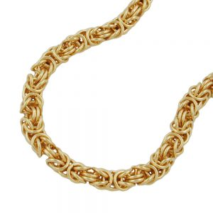 Collier chaine byzantine plaque or 237005 50xx