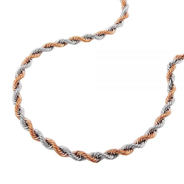 Collier chaine corde 45cm or 14 carats 517001 45xx