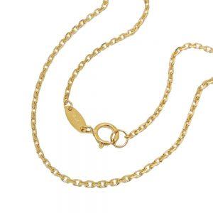 Collier chaine d ancre 45cm en or 9 carats 511020 45xx