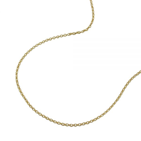 Collier chaine d ancre fine 45cm or 9 carats 511015 45xx