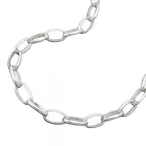 Collier chaine dancre ovale argent 925 Krossin bijoux en argent 45cm 111004 45xx