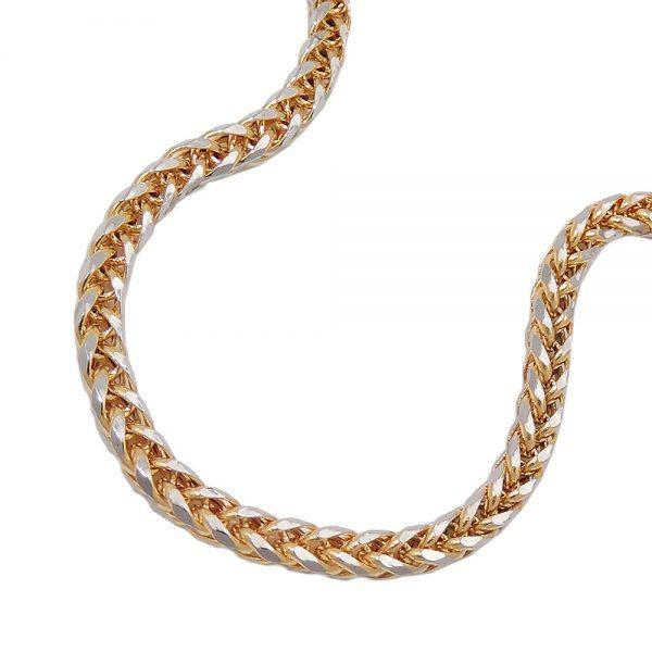 Collier chaine de ble 45cm or 14 carats 539001xx