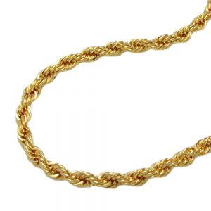 Collier chaine de corde 42cm 9k or 517004xx