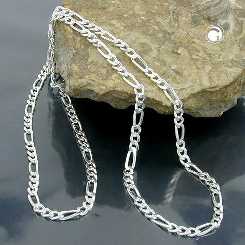 Collier chaine figaro argent 925 Krossin bijoux en argent 45cm 113831x