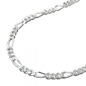 Collier chaine figaro argent 925 Krossin bijoux en argent 50cm 113831 50xx