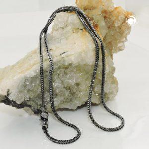 Collier chaine queue de renard argent 925 Krossin bijoux en argent 128008x