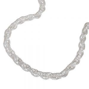Collier double ancre 42cm argent 925 Krossin bijoux en argent 112000xx