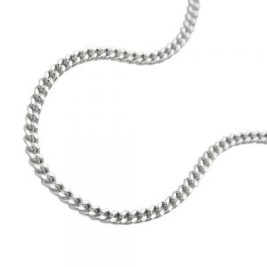 Collier gourmette fine argent 925 Krossin bijoux en argent 40cm 101401 40xx