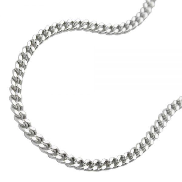 Collier gourmette fine argent 925 Krossin bijoux en argent 45cm 101601 45xx