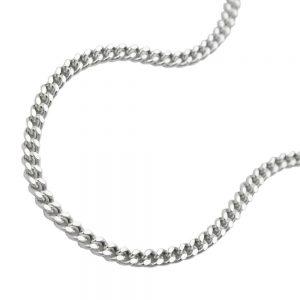 Collier gourmette fine argent 925 Krossin bijoux en argent 55cm 101501 55xx