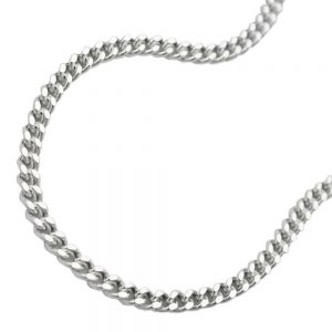 Collier gourmette fine argent 925 Krossin bijoux en argent 55cm 101601 55xx