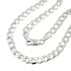 Collier gourmette ouverte argent 925 Krossin bijoux en argent 45cm 101049 45xx