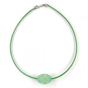 Collier olive menthe  transparent 04030xx