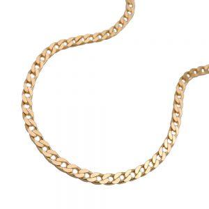 Collier ouvert trottoir 45cm or 14 carats 502005 45xx