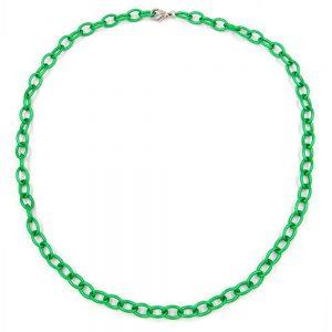 Collier perles bleu argent 02217xx