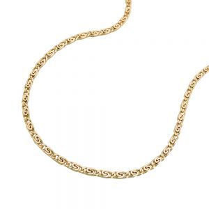 Collier s gourmette chaine 42cm or 14 carats 508003 45xx