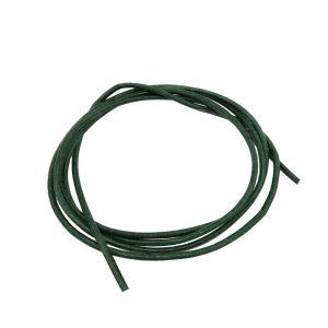 Cordon en cuir vert 2mm 100cm 00651xx