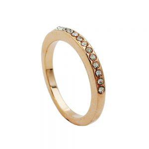 Cristaux de verre a anneau plaque rouge 01219 50xx