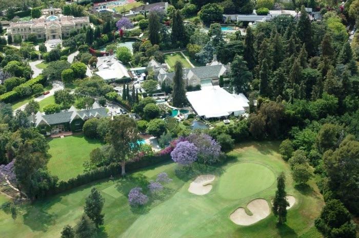 Hugh Hefner top 10 des maisons de stars les plus chers Krossin bijouterie