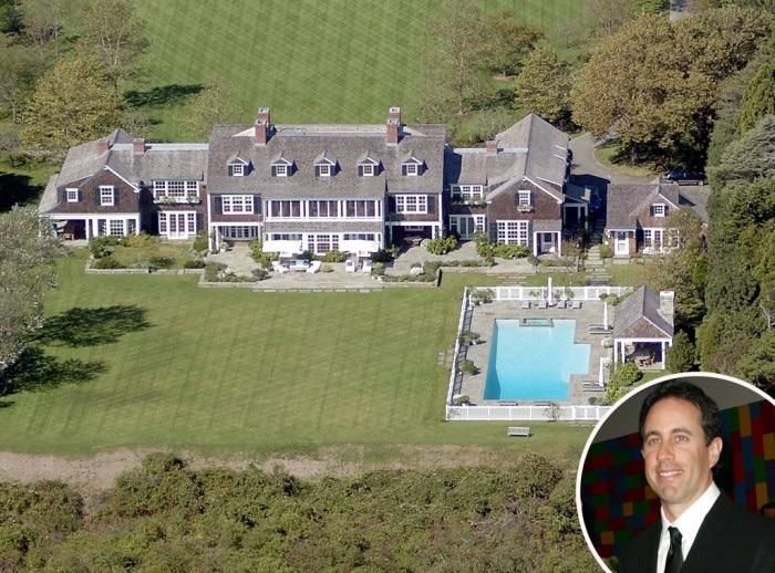 Jerry Seinfeld top 10 des maisons de stars les plus chers Krossin bijouterie