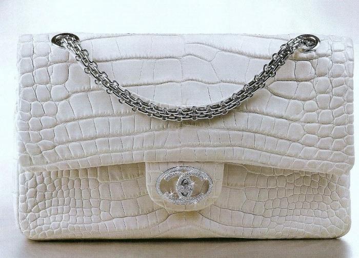 sac à main Chanel Diamond Forever - Top 10 des sacs les plus chers du monde - Krossin
