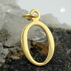 Lettre pendentif en or 8 carats Krossin bijoux or 431102x