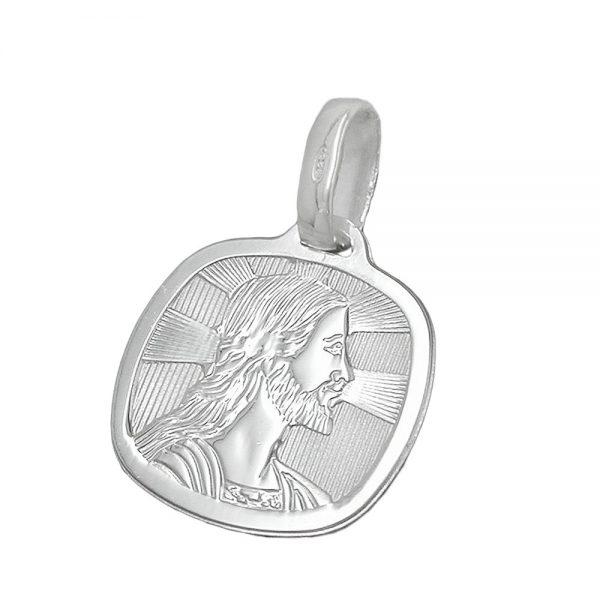 Medaille religieuse jesus argent 925 Krossin bijoux en argent 92385xx