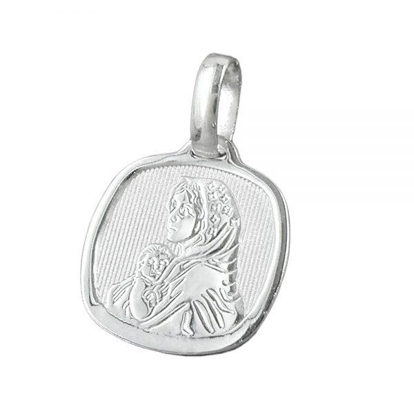 Medaille religieuse mere Mary Argent 925 Krossin bijoux en argent 92387xx