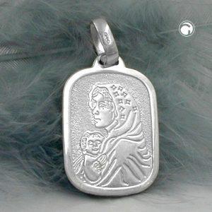 Medaille religieuse mere Mary Argent 925 Krossin bijoux en argent 92406x
