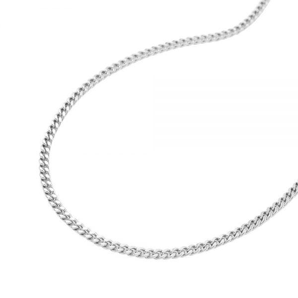 Mince gourmette diamant Taille argent 925 Krossin bijoux en argent 36cm 101351 36xx