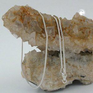 Mince gourmette diamant Taille argent 925 Krossin bijoux en argent 36cm 101351x