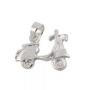 Moteur scooter pendentif argent 925 Krossin bijoux en argent 93515xx