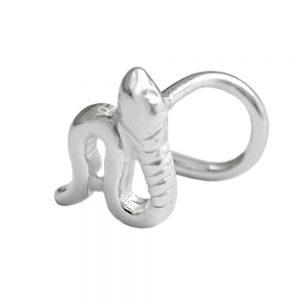 Nez vis serpent argent 925 Krossin bijoux en argent 91458xx