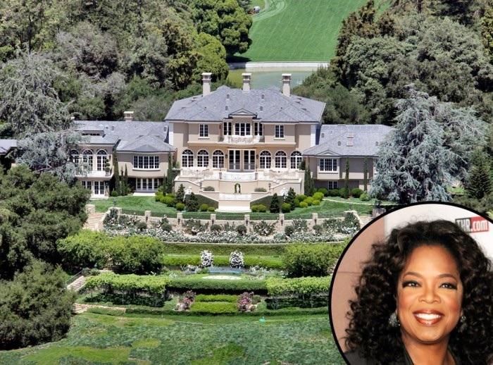 Oprah Winfrey top 10 des maisons les plus chers Krossin bijouterie
