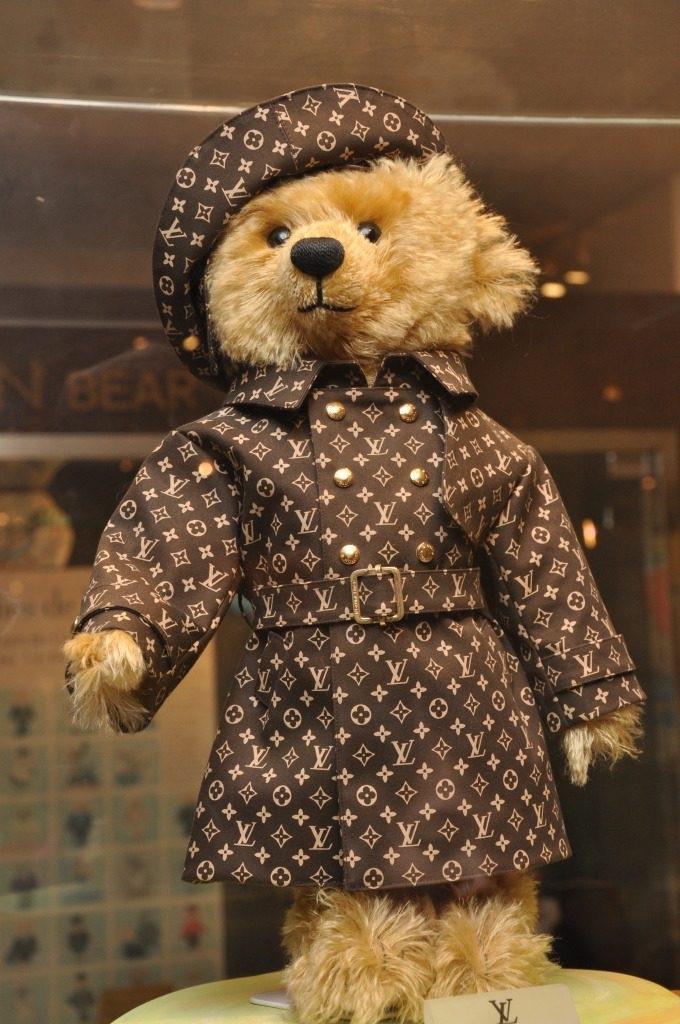Ours peluche Steiff Louis Vuitton Jouets les plus chers du monde- Krossin Bijoux pour enfants