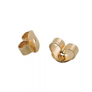 Papillon a friction arriere   piece de rechange pour clous d oreilles en or 9 carats 431350xx