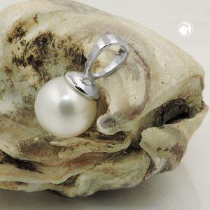 Pendentif 8mm perle deau douce argent 925 Krossin bijoux en argent 93686x