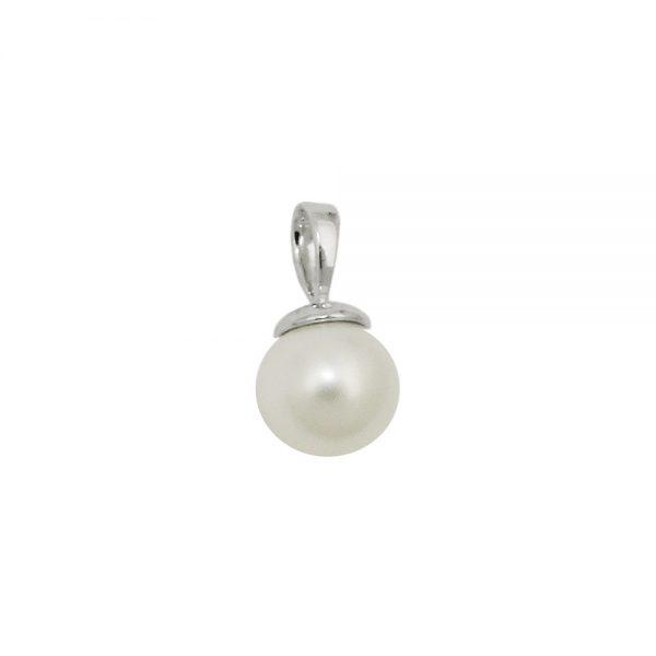 Pendentif 8mm perle deau douce argent 925 Krossin bijoux en argent 93686xx