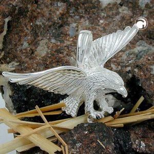 Pendentif aigle 40mm large argent 925 Krossin bijoux en argent 91014x