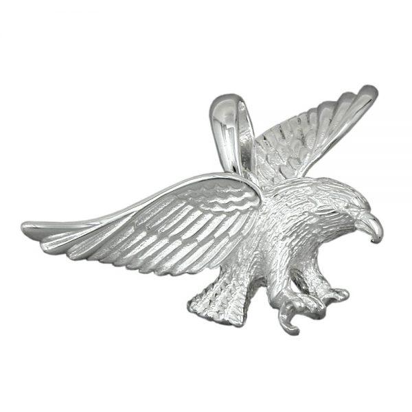 Pendentif aigle argent - Krossin Bijouterie - pendentifs en argent