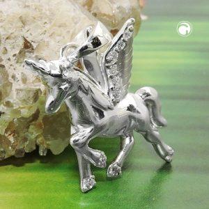Pendentif aile chevaux licorne argent 925 Krossin bijoux en argent 93812x