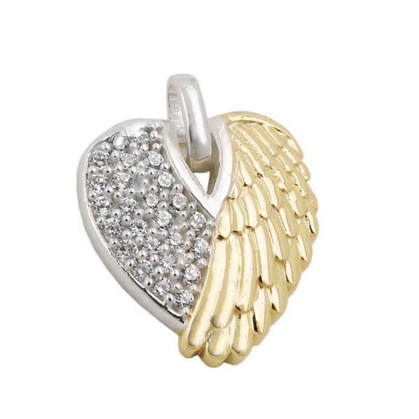Pendentif aile dun ange en argent 925 Krossin bijoux en argent 93501xx