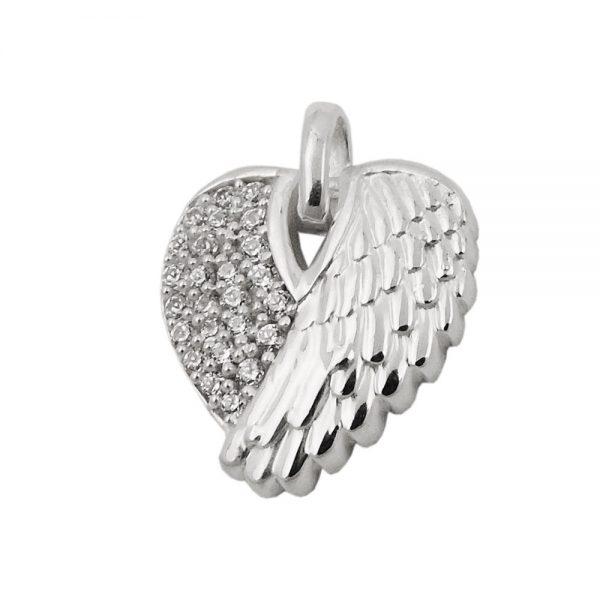 Pendentif aile dun ange en argent 925 Krossin bijoux en argent 93506xx